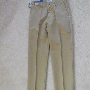 Men's LEE Flat Front Khaki Relaxed Fit 30W x 32L